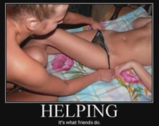 helping