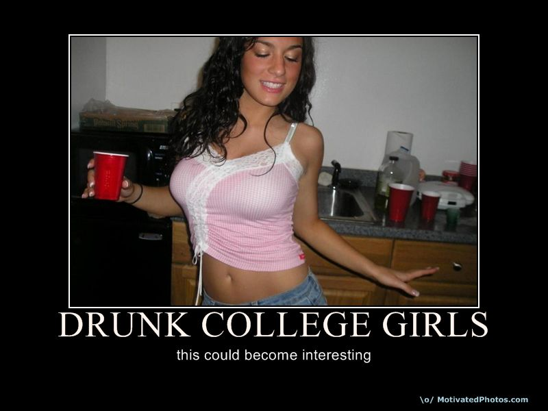 Drunk College Girls