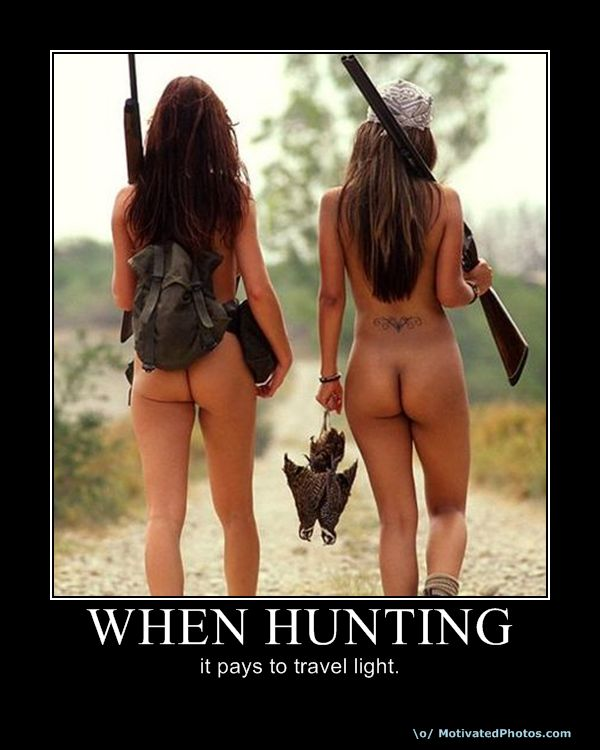 When Hunting
