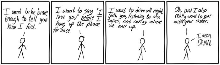 XKCD - Want