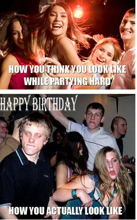 Hard partying